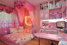 Little Girl Rooms / by Shanda Ballinger-Valentine