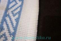 машинное вязание МК изделия