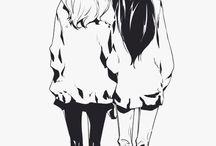 Anime friends :3