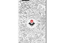 TELEFONY / http://www.redbubble.com/people/laska/shop/iphone-cases?ref=artist_shop_product_refinement