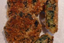 SPINACH FRITTERS  gluten free / Kitchen Wisdom Gluten Free Spinach Fritters Recipe  http://kitchenwisdomglutenfree.com/?s=spinach+fritters