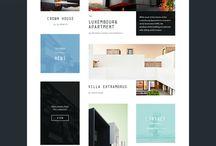 Webdesign agencement