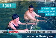 Poolbiking Rehab / El sistema más avanzado del aquabike para rehabilitación. Un equipo de médicos, fisioterapeutas y técnicos en biomecánica colabora en el desarrollo de nuestras máquinas. La resistencia e ingravidez del agua son elementos perfectos para la rehabilitación.