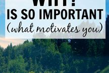Lifestyle | Motivation / Here is anything that I have found that motivates me... Although most of Pinterest motivated me :D