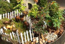 Crazy About Fairy Gardens.........