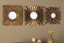Wall Mirrors#Wall decor with mirrors!