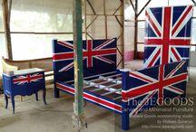 Union Jack Furniture Style - Mebel Gaya Bendera Inggris