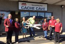 Cache Cave / Yes, it is true, we have opened the second only brick and mortar geocaching store in the USA!  The Cache Cave is a great place to visit to learn all about Geocaching. We have a showroom stocked full of great geocaching gear, such as containers, geocoins, Travel Bugs®, GPS units and much more.  We are also available for geocaching classes, tours, and we're happy to answer any geocaching questions -except puzzle solutions!