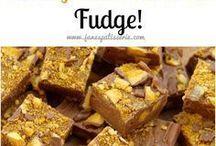 Crunchie fudge