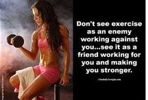 Exercise / Ideas to work out at home and save money on gym membership..just have to stay motivated!