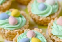 Recipes / Easter cup cakes