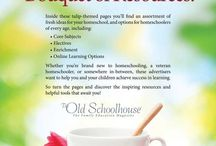 Bouquet of Resources-2015 Print Issue / Fresh Ideas and Options for Homeschooling All Ages / by The Old Schoolhouse Magazine