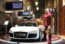 Audi placement in Iron Man 3