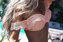 Crochet swimming suit