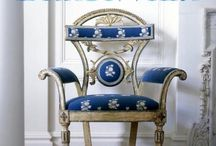 Singin The Blues / Blue and white decor