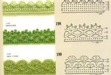 Crochet grille