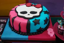 Monster high themed birthday party
