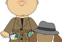 Detective Clip Art / by MyCuteGraphics