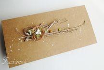 Zaciszność: Wielkanoc/ Easter / Ręcznie robione kartki wielkanocne/ Handmade Easter cards
