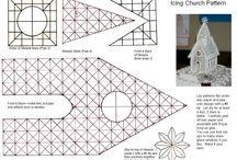 Royal icing pattern