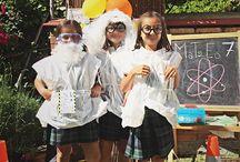 Mad scientist party cumpleaños cientifico / Un cumpleaños con experimentos cientificos. Cumpleaños tematico para niño. 7 años.