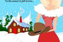 A Cowboy For Christmas / The Christmas Novella for the Page Turners series
