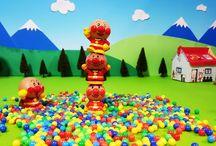 アンパンマンストップモーション❤人形積み上げつむつむ!アニメ&おもちゃ Anpanman toys