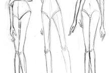 Fashion Illustrations / by Ingrid Ann