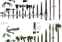 Weapons and Items