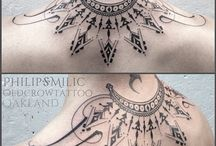 Art / tattoo and tattoo-sketch / wonderful tattoo