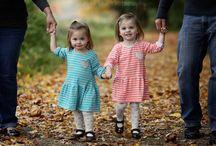 Fotos gêmeos e família