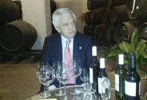 Visita del Presidente de la Cámara de Comercio / Hace unos días recibimos la visita del presidente de la Cámara de Comercio, Francisco Herrero, en nuestras Bodegas.