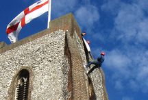 Abseiling / Charity abseils with Hatt Adventures in the UK.  Raise money for charity and have fun in the process!