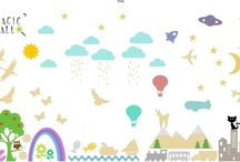 Magic Wall / Decoration for children' s rooms
