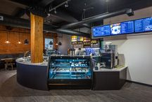 Alair Homes Regina - Brewed Awakening Store Renovation / Alair Homes | Brewed Awakening | 2,000 sqft | A complete renovation of a coffee shop. The entire space was modernized and finished with high-end fixtures.
