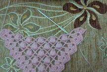 pañoleta de crochet