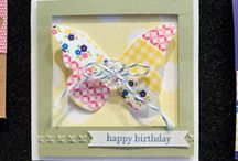 Butterflies / Cards and paper crafts for butterfy lovers
