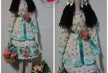 Minhas artes bonecas / Bonecas variadas