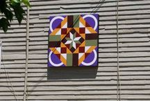 barn quilts & quilts / by drewsyarn yarn