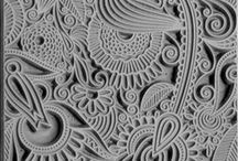 Zentangle art & patterns