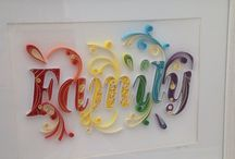 quilled letther
