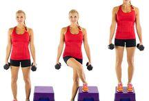Legs / Saddler bag leg exercise