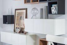 Composition murale meubles