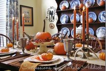 Thanksgiving Table / by Carolyn Choiniere