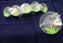 kanzashi hair pins