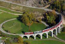Railway Spirals of the World