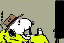 peanuts / leuke Snoopy plaatjes en van Charlie Brown