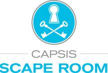 Escape Rooms / Do you feel ready to spice your vacation with some puzzle solving against time? Visit one or all three newly established escape rooms and leverage excitement and fun. Capsis Elite Resort is the only beach resort in Greece that operates Escape Rooms