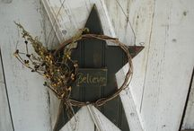 Decorating the house / I like log cabin and country style decorating.   These would work.