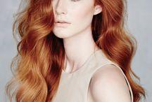 Kızıl Tonlarında En Güzel Saçlar / Kızıl Saçlar